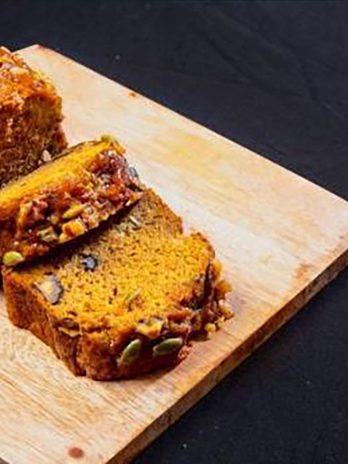 Carrot Pumpkin Walnut Loaf