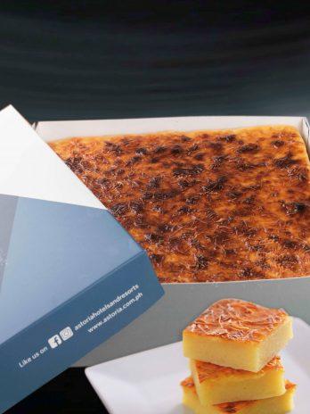 Cassava Cake – 10″x10″