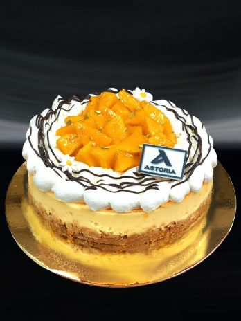 Mango Cheesecake Confection