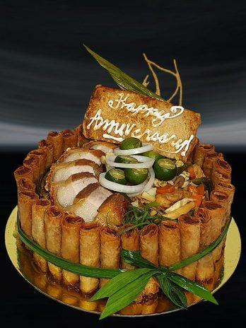 Pancit Canton Fiesta Cake
