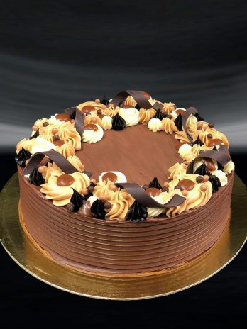 Salted Caramel Choco Cake