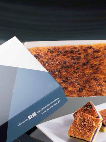 Ube Cassava Cake – 10″x10″