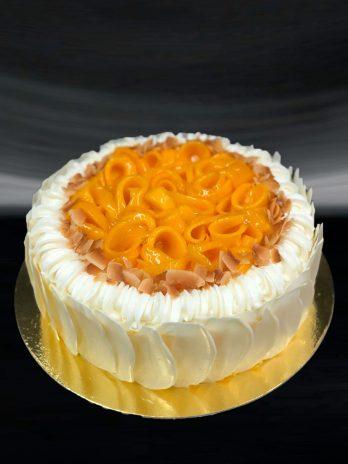 Mango Coconut Almond Cake
