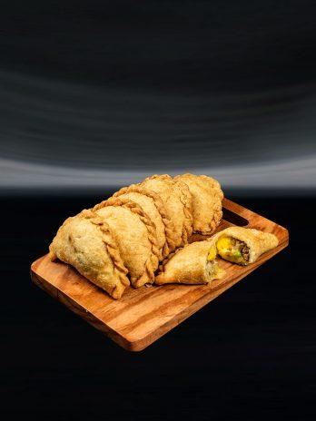 Cheesy Pork Empanada